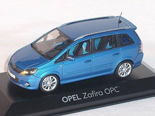 Opel Zafira Opc B Blau 1 43 Minichamps Modell Auto Modellauto Sonderangebot Spielzeug