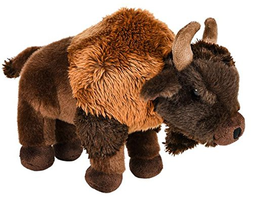 uffed Buffalo Plush Floppy Animal Heirloom Collection (Bison Plush)