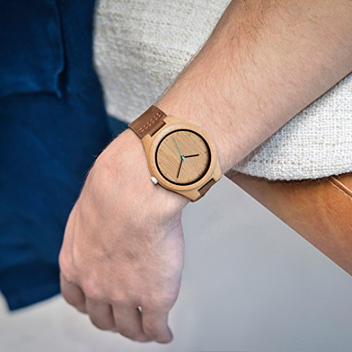 Amazon.com: MAM Originals · Boreas Bamboo | Womens Watch | Minimalist Design | Watch Made from sustainably Sourced Bamboo | Superior Quality at an ...