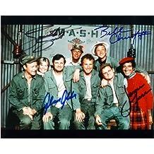 Mash Cast Signed Autographed 8 X 10 Reprint Photo - Mint Condition