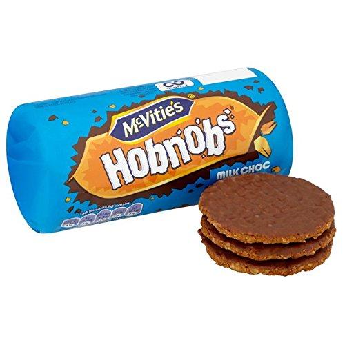 McVitie's Hobnobs Milk Choc Biscuits 262g PMP Case of 12