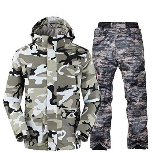 Hiver Pour Hommes De Homme Snowboard en Kunhan Sets Ski un Haute Qualité Camouflage Détachable Vêtements Manteau Suit A7 Trois Imperméable twY1IA