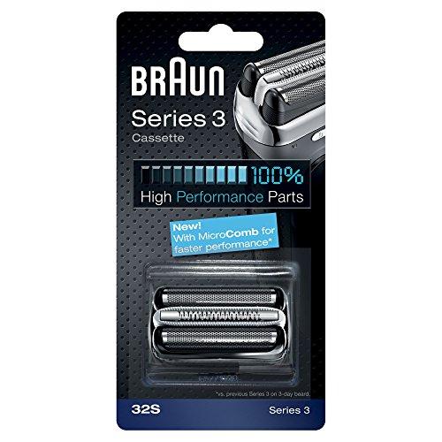 BRAUN 32S Series 3 Foil & Cutter Cassette Replacement (Braun Series 5 Replacement Parts)