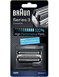 Braun 32S Shaver Replacement Foil Cassette - Silver