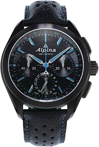 Alpina Geneve Alpiner 4 Flyback Chronograph AL-760BN5FBAQ6 Automatic Mens Chronograph Manufactury calibre