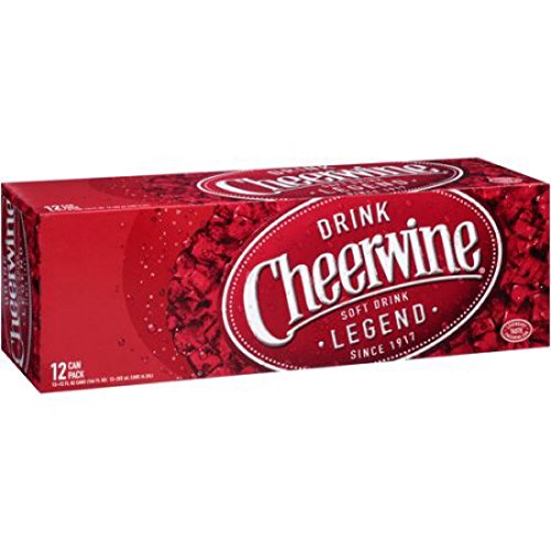 Cheerwine Cherry Soda, 12 oz (48 Cans)
