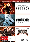 Doom / Chronicles of Riddick / Chronicles of Pitch Black   3 Discs   NON-USA Format   PAL   Region 4 Import - Australia