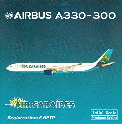 (PHX1558 1:400 Phoenix Model Air Caraibes Airbus A330-300 REG #F-HPTP (pre-painted/pre-built))