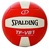 Spalding Volleyball TF-VB1 Performance Composite NFHS Approved Orange & White Color