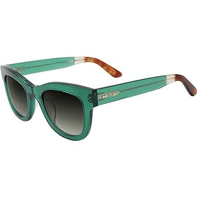 a44db50ede0a7a TOMS 10009584 femmes vert émeraude cadre vert dégradé Objectif Lunettes de  soleil wayfarer