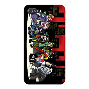 Apple iPhone Custom Case 6 plus 5.5 White Plastic Snap On - All Character Heroes & Villains Group Video Game & Bat Super Hero Parody