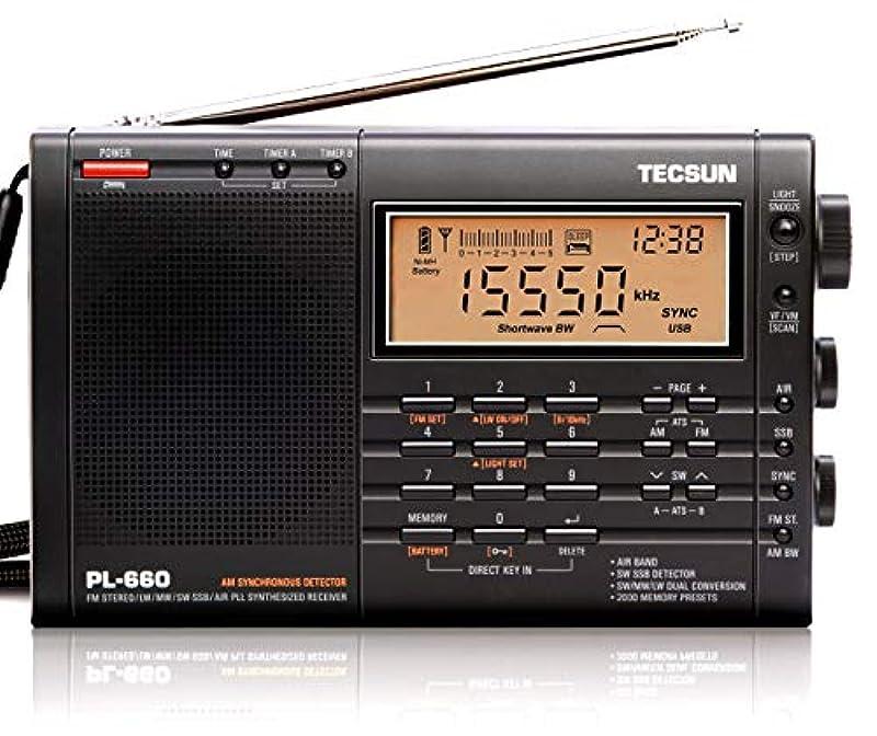 TECSUN BCL 단파 라디오 PL-660