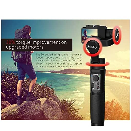 Hohem iSteady Pro 3 Gimbal Stabilizer for GoPro Hero 8, Action Cam Gimbal Compatible with DJI OSMO Action, GoPro 8/7/6/5… Fdeals camera