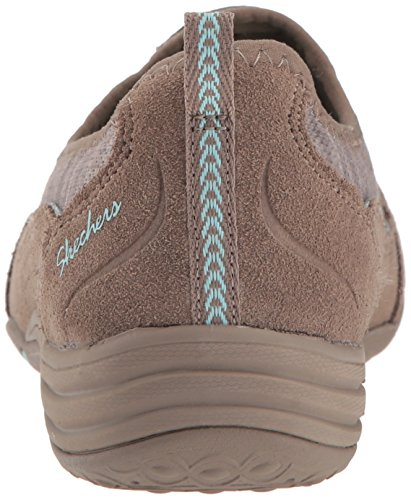 Bliss Entrenadores Blue Mujer Eternal para Skechers Taupe Unity FqzgxgB