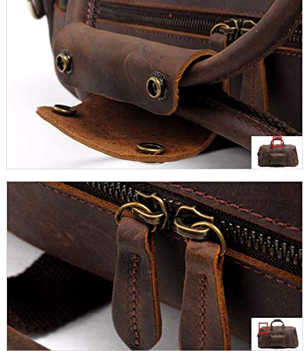 XL-Super Leather Duffle Bag: FSO Leather Travel