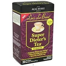 Laci Le Beau Super Dieter's Tea Cleanse with Acai Berry - 30 Tea Bags, 2 Pack