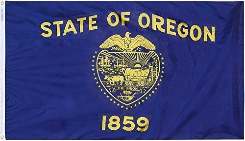 Oregon - 6' x 10' Nylon State Flag