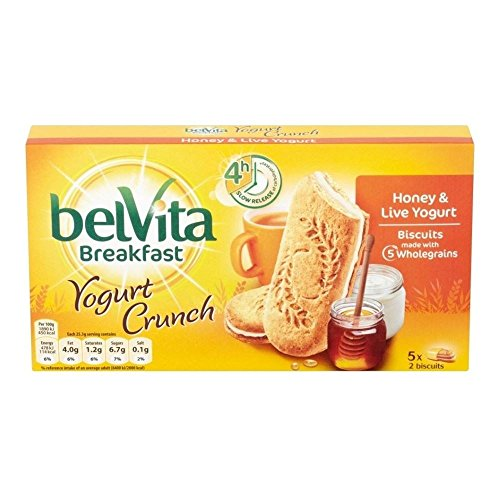 Belvita Breakfast Biscuits - Yogurt Crunch Honey (5x50g) (Biscuit Yogurt)