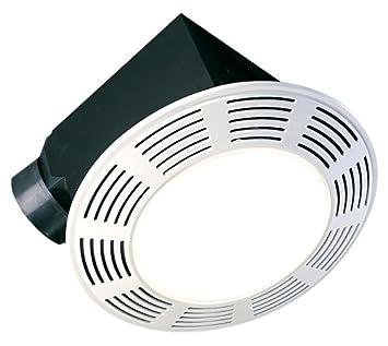 Air King Ak864l Deluxe de bain rond ventilateur avec lumière: Amazon ...