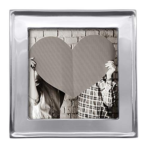 - Mariposa Modern Signature 4X4 Engravable Statement (Photo/Picture) Frame