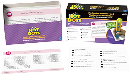 Educational Insights Hot Dots Reading Comprehension Finding The Sequence/Cause & Effect
