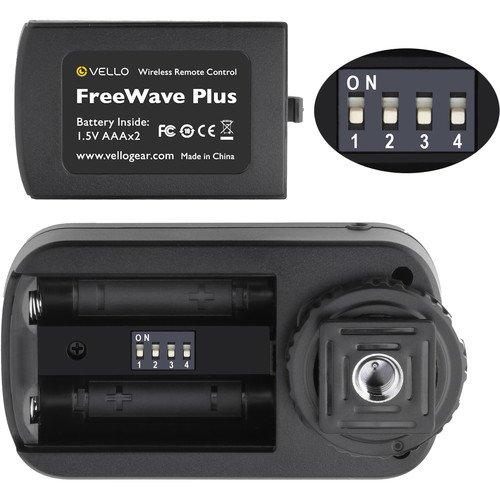 Vello FreeWave Plus Wireless Remote Shutter Release for Sony Multi-Terminal