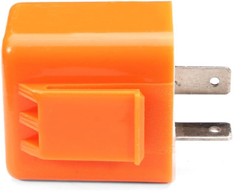 Relais de clignotant LED portable /électrique universel stable 12V clignotant 2 broches moto fr/équence r/églable durable