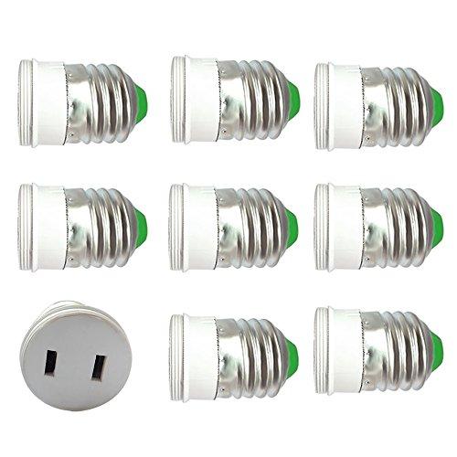 Shanhai Outlet to E27 Edison Medium Base Light Lamp Socke...