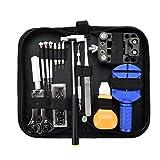 Kit de herramientas de reparación de relojes Kit de bricolaje de reloj abridor de carcasa pinzas relojero dedicado dispositivo ozchin