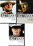 The 9-Movie Collection of Clint Eastwood featuring Dirty Harry, Absolute Power, Tightrope, Outlaw Josey Wales, Pale Rider, Bronco Billy, Heartbreak Ridge, Kellys Heroes, & Firefox 9-DVD Bundle