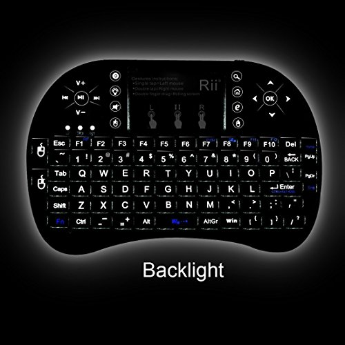 Hot Keyboard with touchpad Rii i8+