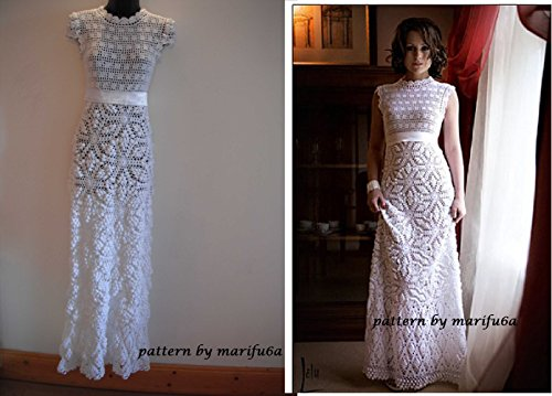 Crochet Wedding Dress Pattern Pdf Nr25 Crochet Wedding Dress