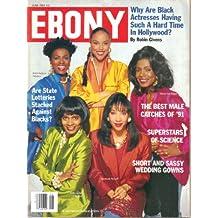 EBONY Magazine, Vol. XLVI, No. 8 (June, 1991) (ISSN: 0012-9011)