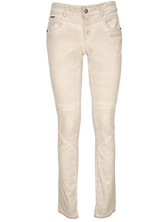 Pastel 40 Velours Pantalon Beige Sésame One Step vwpRqfnP