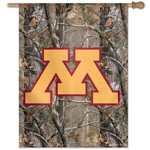 Minnesota Gophers Flag - Vertical 27X37 Outdoor House Flag