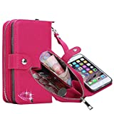 Best Vogue Iphone 6 Plus Wallet Cases - Just Mode(TM)New Top Quality Leather Wallet Purse Case Review
