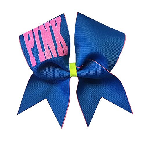 Chosen Bows Pink Cheer Bow