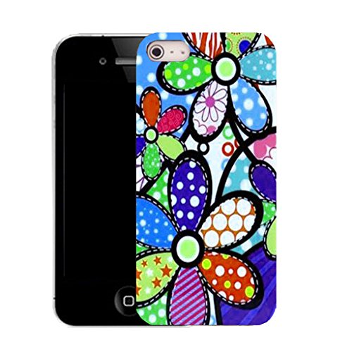 Mobile Case Mate IPhone 4 clip on Silicone Coque couverture case cover Pare-chocs + STYLET - overabundance pattern (SILICON)