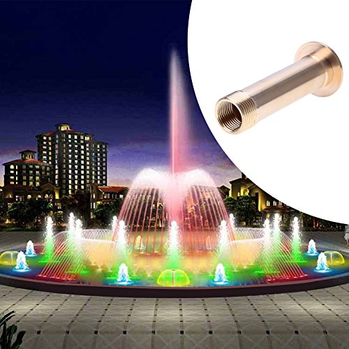 RedSonics(TM) 1/2inch 3/4inch Fountain Nozzle Brass Pond Hemispherical Pond Spray Head Garden Watering Kits Landscape Nozzle by RedSonics