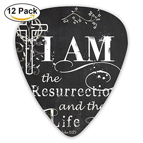 Accessories Light He Is Resen Bass Thin Heavy Medium Light Guitar Picks Girls 12 Packs Cigar Box Guitar