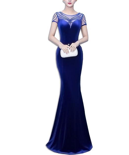KAXIDY Vestido de Bola Vestido Partido del Vestido Mujeres el Vestido Largo de Noche Vestidos para