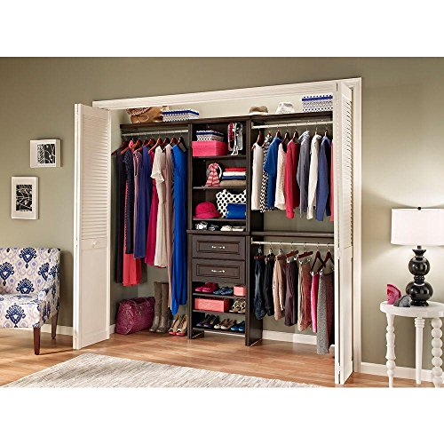 ClosetMaid 25 In. Impressions Chocolate Closet Kit By ClosetMaid