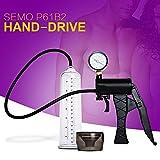 DODOIT 2017 New Semo P61B2 Penis Pump Hand-drive Penis Enlargement Vacuum Pump Man Sex Toys Penis Extender Adult Sexy Product for Men