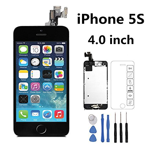 iphone 5s screen repair cost iphone 5s frout screen replacement black kit screen 17494