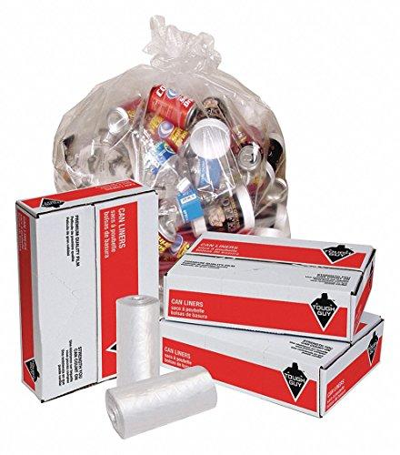 Clear Coreless Rolls - 7 gal. Light Trash Bags, Clear, Coreless Roll of 1000