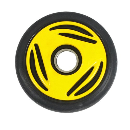 Ski Doo Idler Wheel (PPD Yellow Idler Wheel 135MM O.D. X 25MM I.D. for BOMBARDIER/SKI-DOO All models Formula/GT/MX 1996-1998)