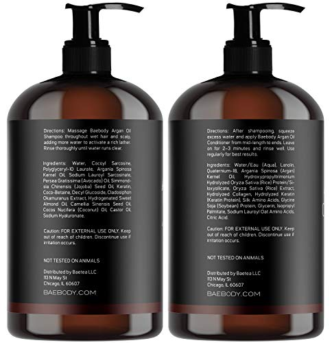 Moroccan & Conditioner Oz Moisturizing, Gentle Curly & Treated Hair, for & Infused with