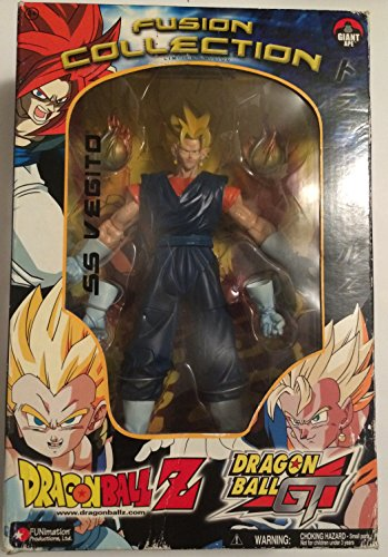 Very Rare Find Dragon Ball Z GT Limited Edition SS Vegito Part Of The Fusion Collection From Jakks Pacific 2003]()