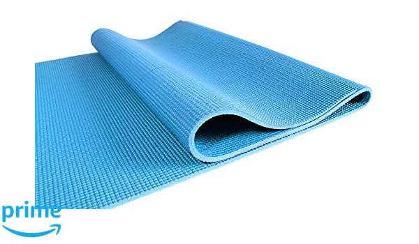Amazon.com : FUNKY BUDDHA PVC Yoga Mat in Mesh Bag : Sports ...