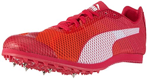 Puma Evospeed Star V4 Wn - Zapatillas de Entrenamiento Mujer Naranja - Orange (fluo peach-rose red-white 01)